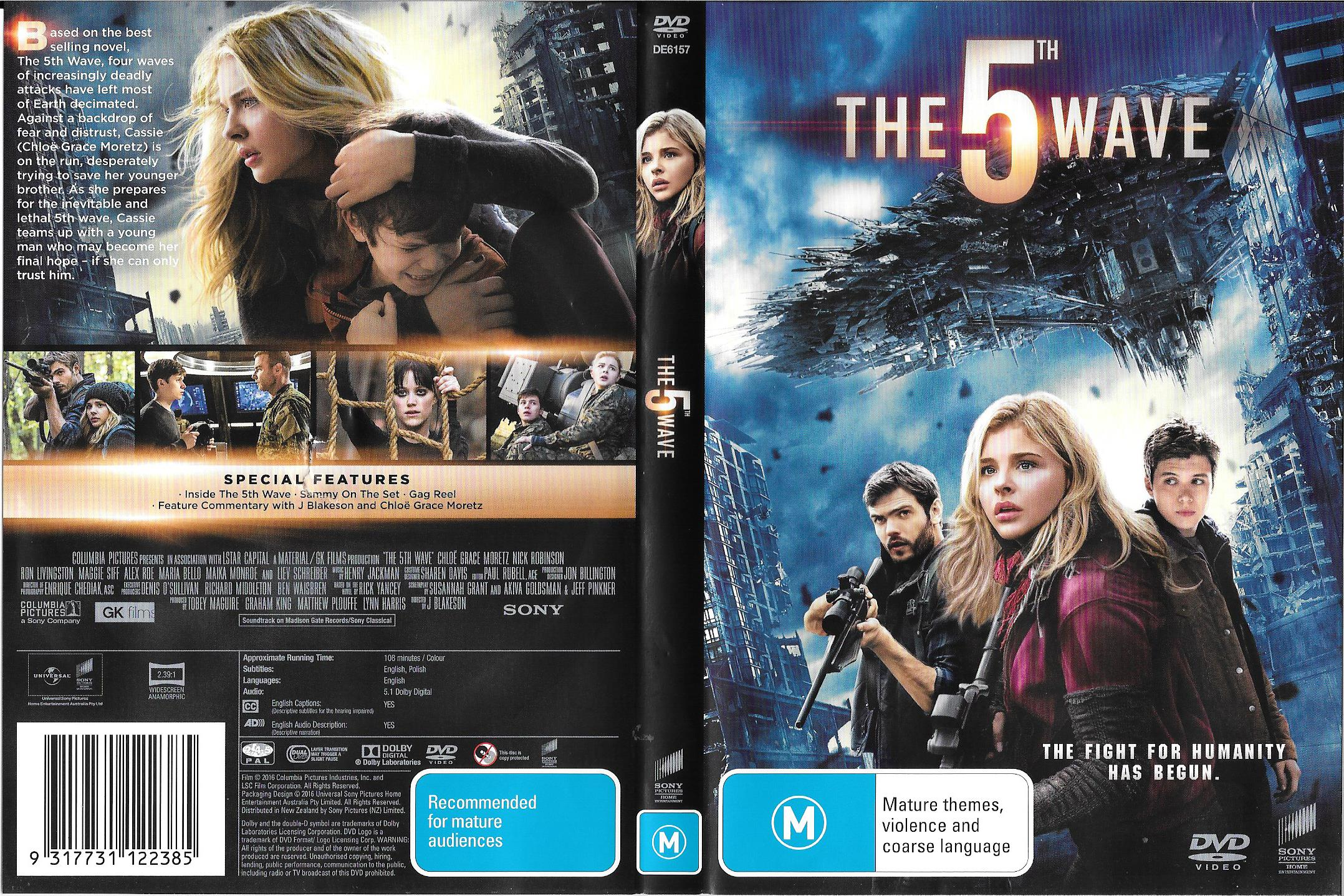 The 5th Wave (2016) : Front   DVD Covers   Cover Century